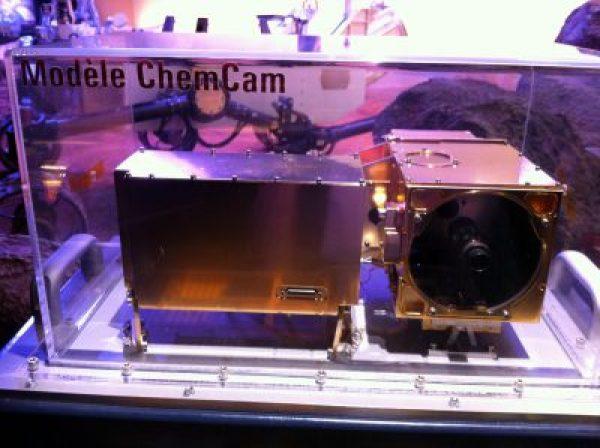 maquette de ChemCam