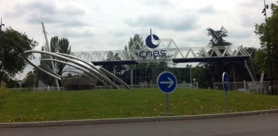 Entrée du CNES Toulouse
