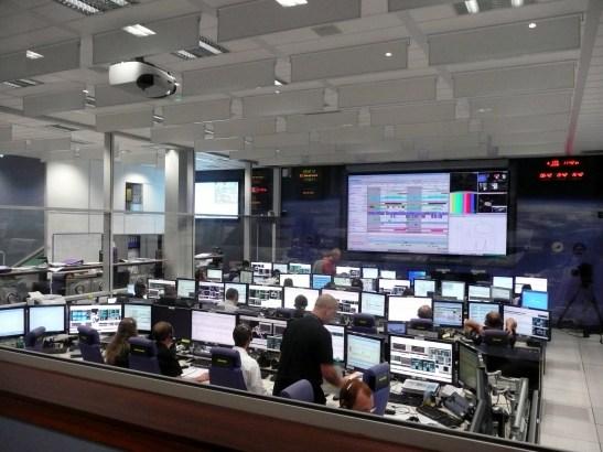 la salle de contrôle de l'ATV