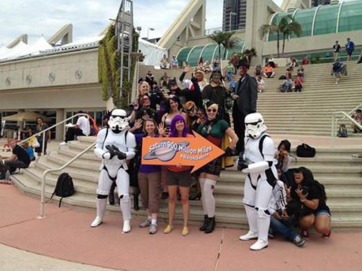 """Au """"Comic Con"""" de San Diego, réunion des fans de science fiction"""