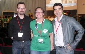 Avec Romain Charles et Diego Urbina de MARS 500 (ATVtweetup)