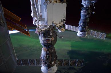 2 cargos Progress arrimés à l'ISS (source NASA)