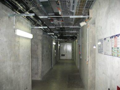 le bunker à 10m sous le sol