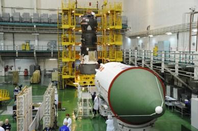 Le cargo progress M21 avant sa misse sous coiffe (source RSC Energia)