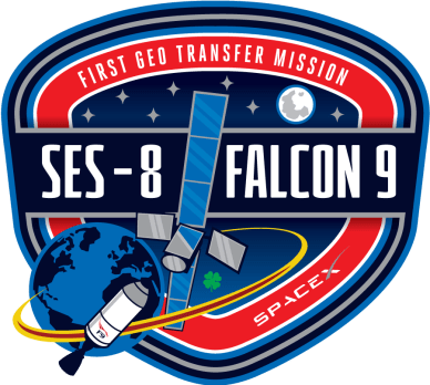 logo de la mission (source Space X)