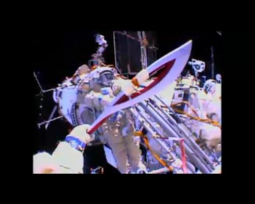 capture d'écran NASA TV