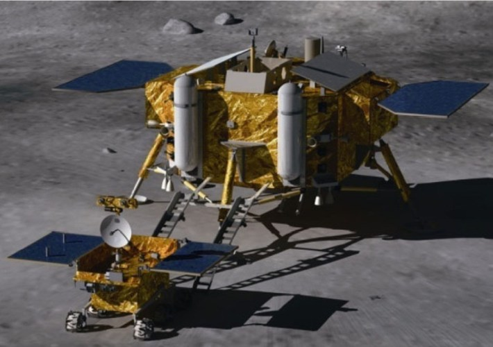 Chang'e-3 (Image: Beijing Institute of Spacecraft System Engineering)