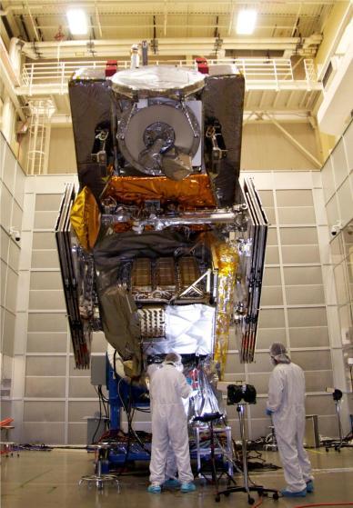 Le satellite GPM (source NASA)