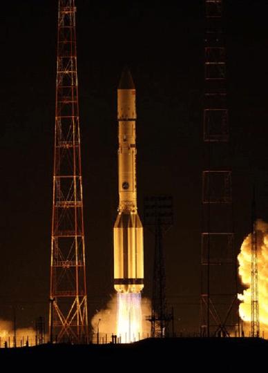 Décollage de Proton - Turksat 4A le 14 février 2014 (source ILS)