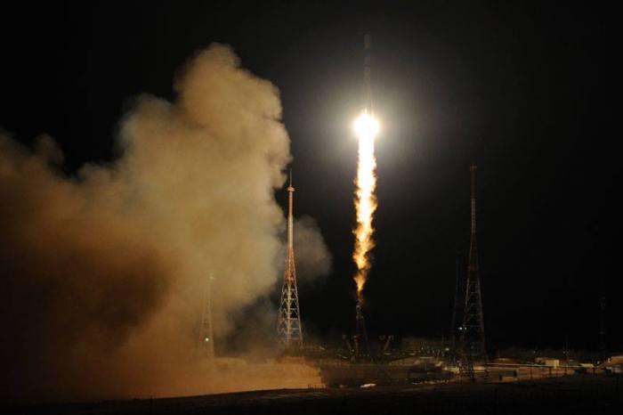 lancement du Progress M22-M le 5 février 2014 (source Roscosmos)