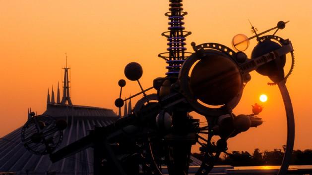 L'entrée actuelle de Tomorrowland (source Disney)