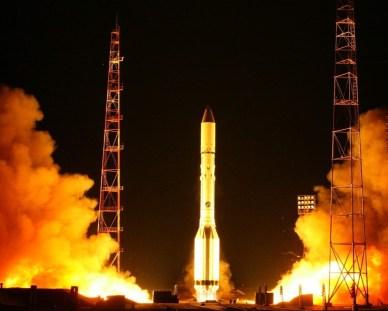 Lancement de Proton ce 15 mars (source Roscosmos)