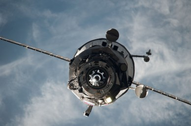 Départ de l'ISS pour le cargo M22-M (source NASA)