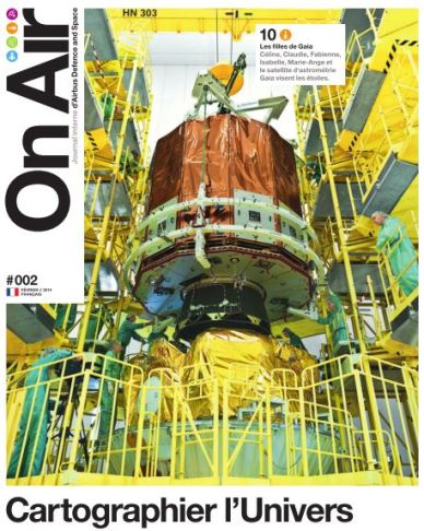 "Magazine ""On Air""  d'Airbus Defence and Space (avec l'aimable autorisation du service communication)"