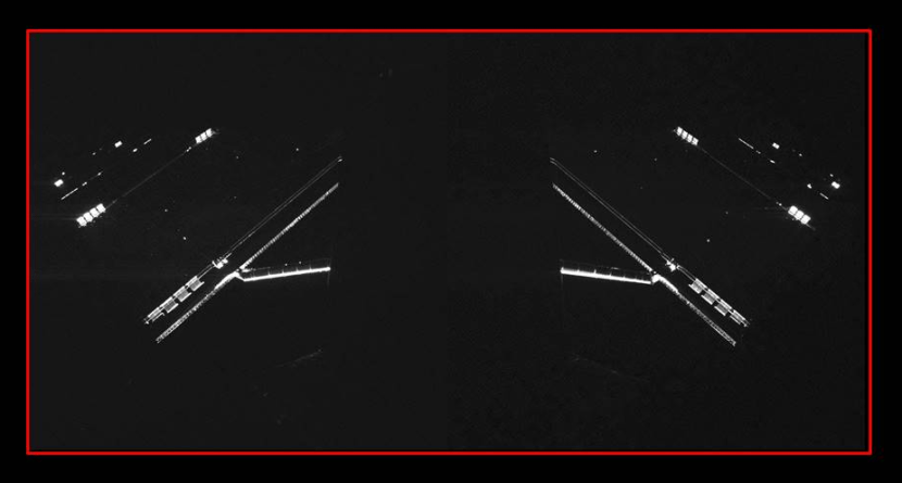 Premières images de Philae (source CNES, crédits image : CIVA/Philae/Rosetta)