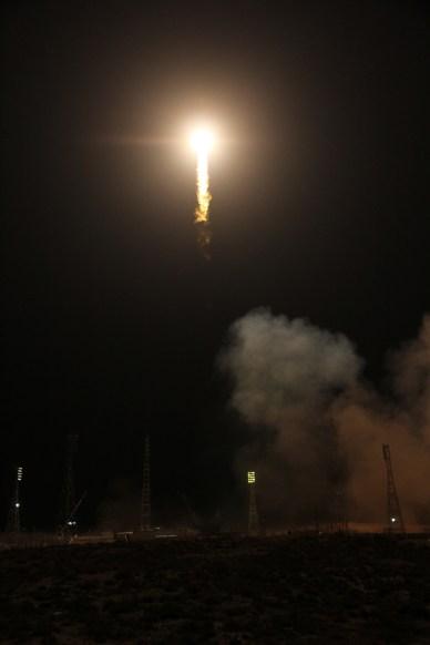 Décollage de la fusée Soyouz avec le cargo Progress M23-M à son  bord (source Roscosmos)