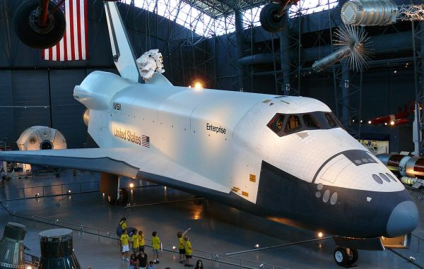 La navette Enterprise au Smithsonian's National Air and Space Museum de Washington (credit Ad Meskens)