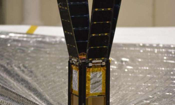 """Le cubesat emportant """"LightSail"""" (Credit: Planetary Society)"""