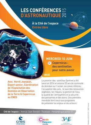 Conférence le 10 juin à la Cité de l'espace