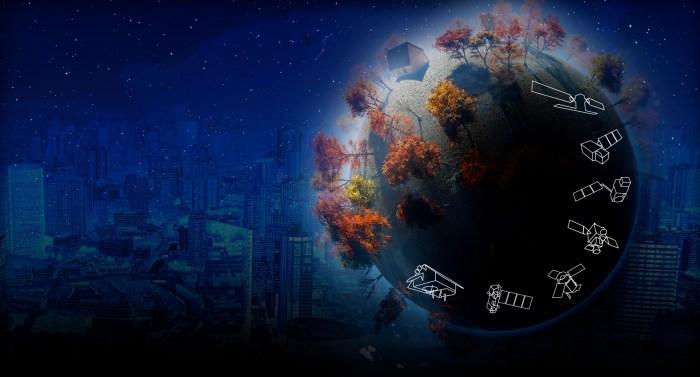 La famille des missions Sentinel  (© ESA)