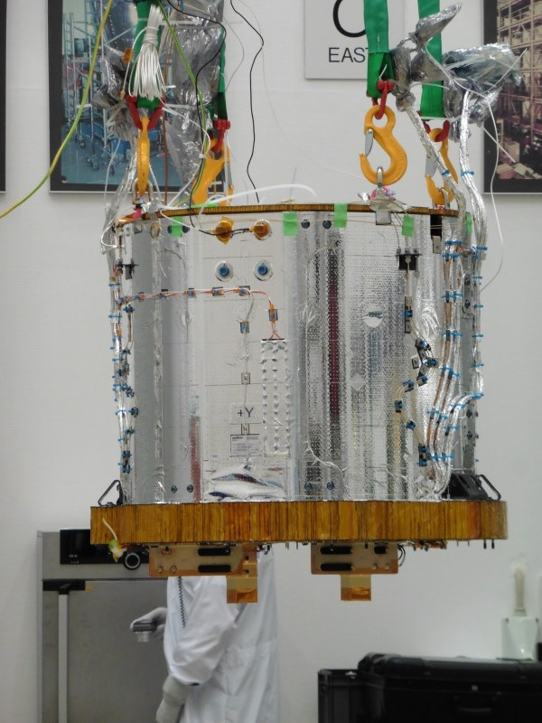 Le LISA Instrument Core Assembly. (Crédit : Airbus Defence and Space Ltd)