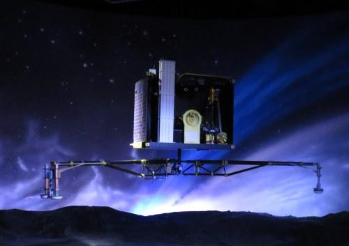Maquette de Philae à la Cité de l'espace à Toulouse