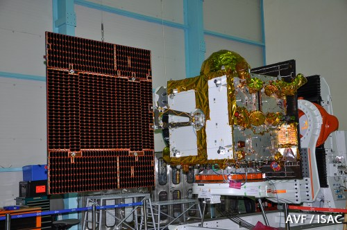 Le satellite IRNSS-1E (source ISRO)