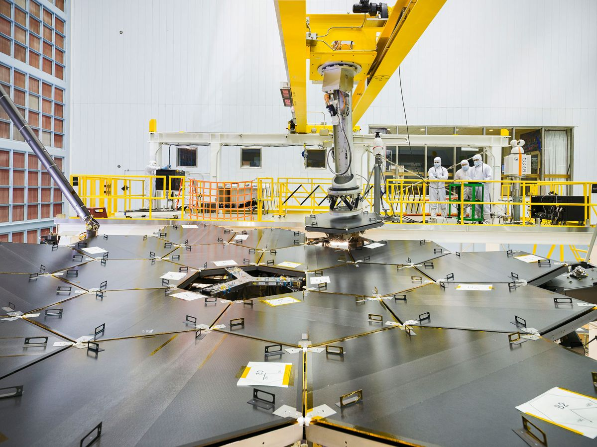 James webb telescope – miroirs