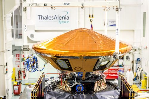 L'EDM ou module Schiaparelli de la mission ExoMars (credit TAS)