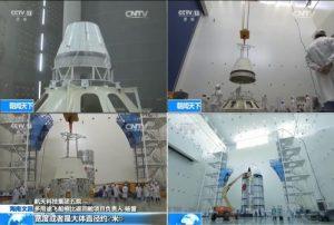 La capsule de rentrée atmosphérique chinoise (source chinaspaceflight)