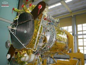 Le satellite russe de géodésie Geo-IK-2 (credit ISS Reshetnev)