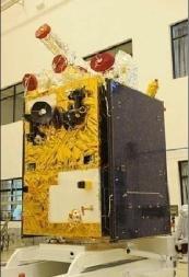 Photo de ZY-3-01 durant son intégration (credit: CAST/BISSE)