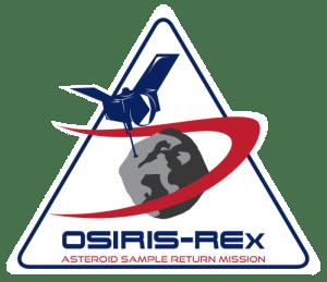 Logo de la mission OSIRIS-Rex (credits NASA)