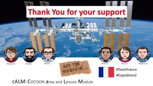 Merci de nous avoir supporté dans ce projet !