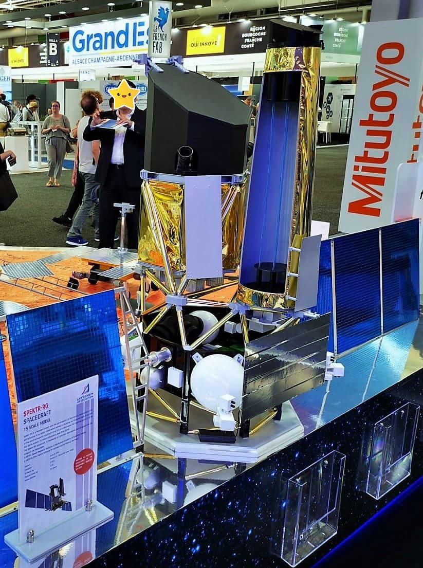 Spektr-RG, un nouveau télescope spatial en Rayons-X