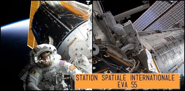 ISS : une sortie spatiale pour les futurs vaisseaux américains