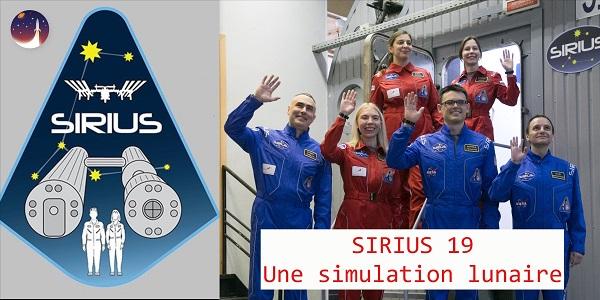SIRIUS 19 : une simulation lunaire mixte