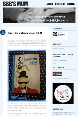 Décembre 2014 Célestin rêve http://bbbsmum.wordpress.com/2014/11/05/chut-les-enfants-lisent-76/