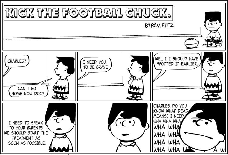 Kick the Football Chuck 01