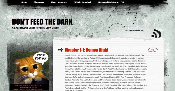 The Don't Feed The Dark Web Serial.