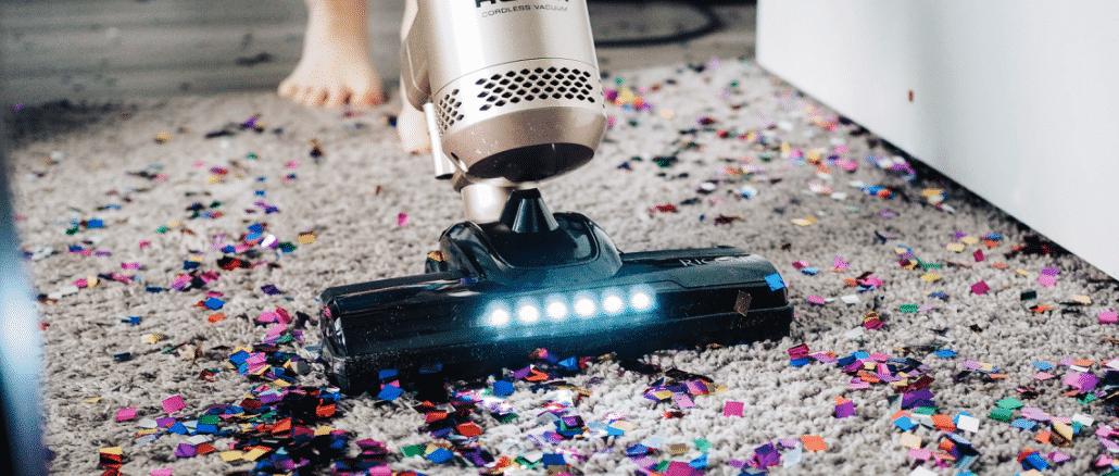 shark vacuum cleaning any floor mat