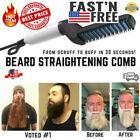 Hair Straightener For Men Multifunctional Comb Curling Electric Brush Beard Comb