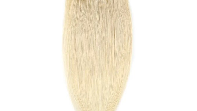 human hair extensions clip on 10