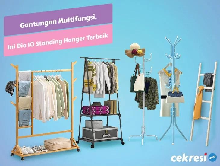 Gantungan Multifungsi, Ini Dia 10 Rekomendasi Standing Hanger Terbaik
