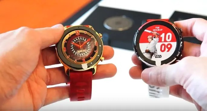 Amazfit GTR 47mm Iron Man special edition vs Amazfit Stratos 3 Star Wars edition: un confronto completo tra due indossabili da polso Huami