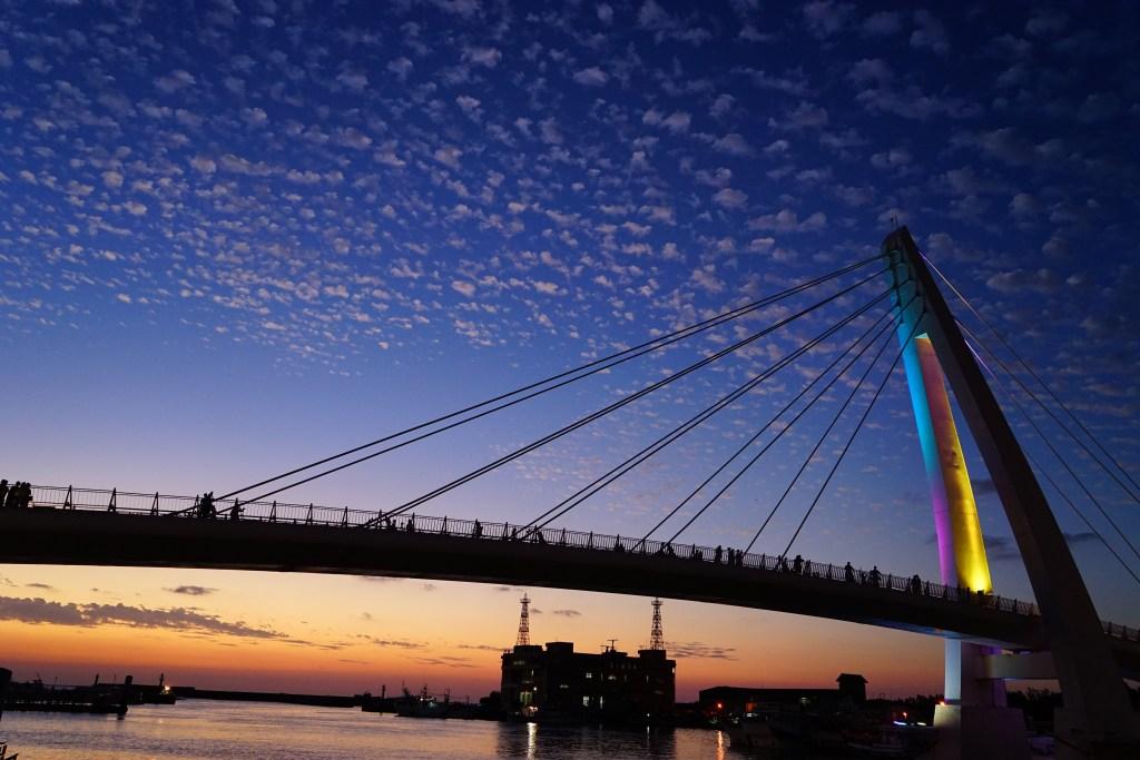 漁人碼頭の情人橋