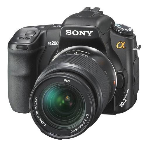 Sony DSLR-A200K 10.2MP Digital SLR Camera