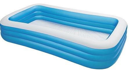 7. Intex Swim Center Ocean Reef Inflatable Pool