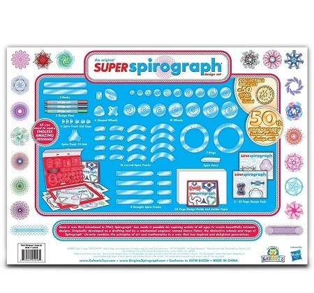 75-Piece Super Spirograph Jumbo Kit