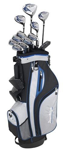 Tour Edge Men's Hp25 Graphite 17-Piece Complete Golf Set
